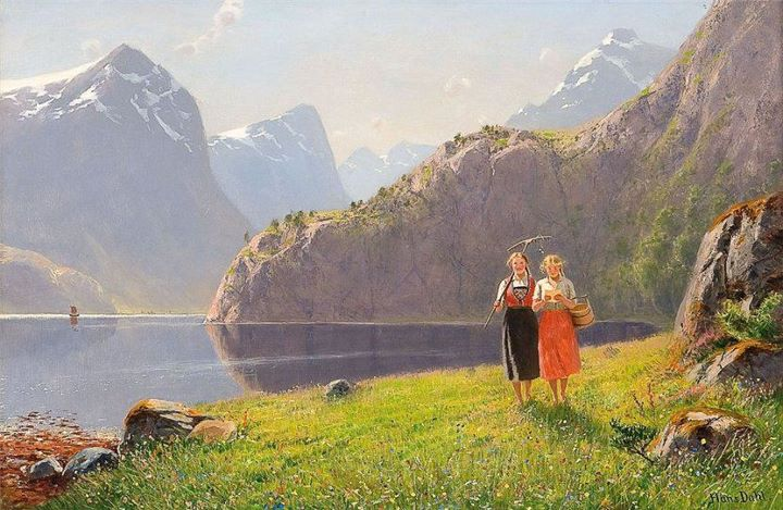 Norwegian_artist_painting