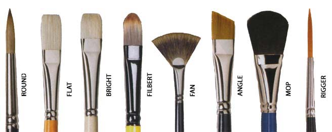 Painting Brush Types