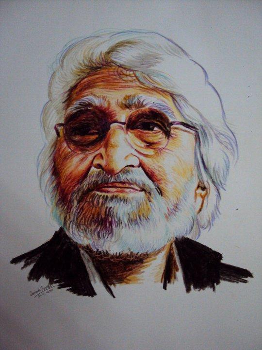 portrait-crayon