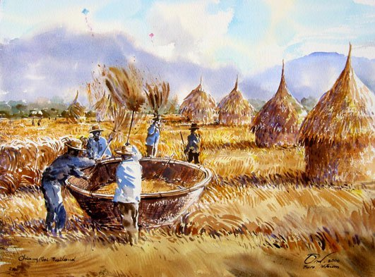 field-watercolor-painting