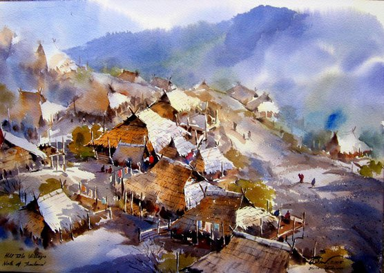 hill-watercolor-painting