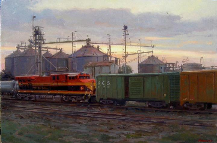 train-painting