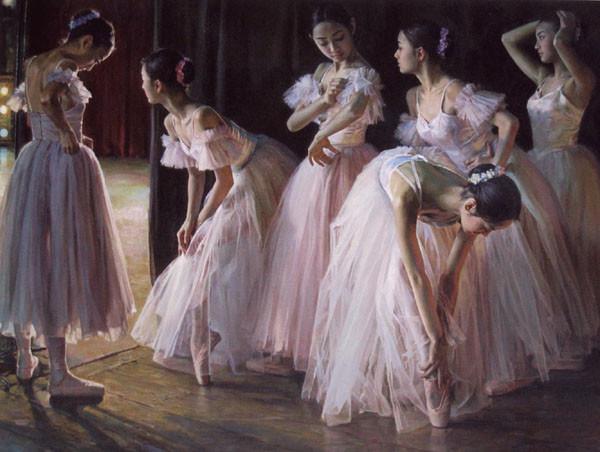 ballet-girl-paintings - Fine Art Blogger