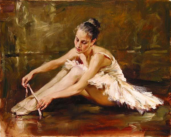 ballet paintings by famous artists