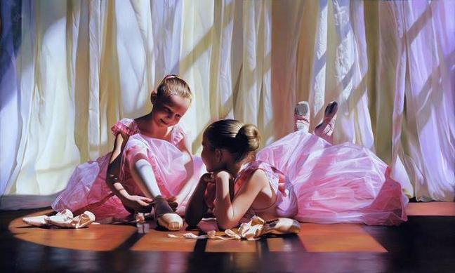 Dancing Girl Paintings Art Dancing-girl-painting