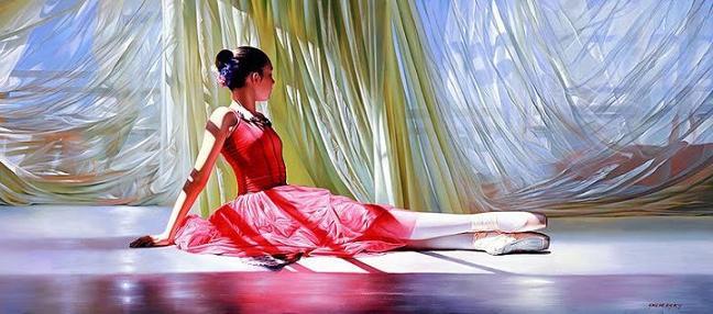 Dancing Girl Paintings Art Girl-dancing-painting