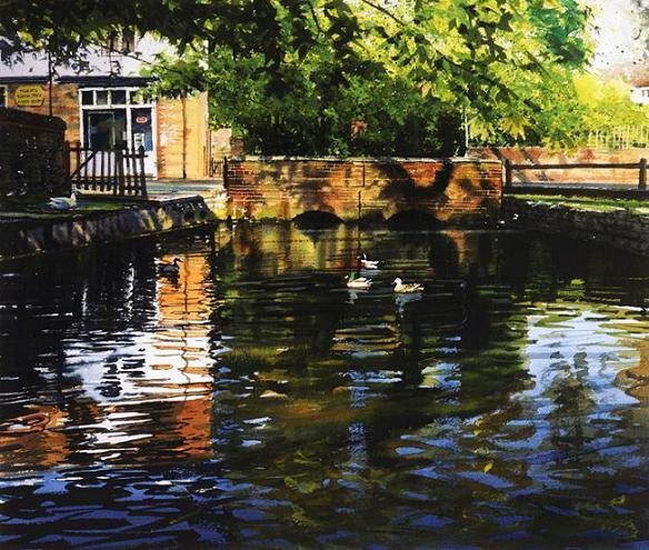 swan-paintings
