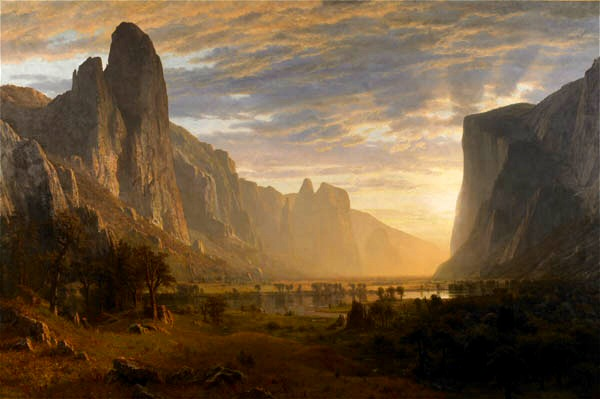 Famous Landscape Oil Paintings by Albert Bierstadt - Fine ...