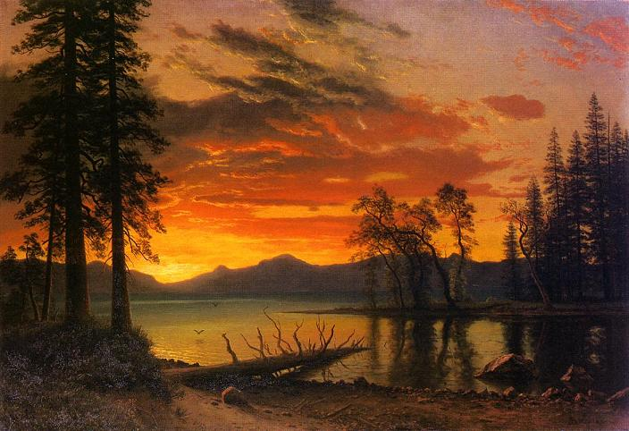 Sunset Paintings By Famous Artists Fine Art Blogger