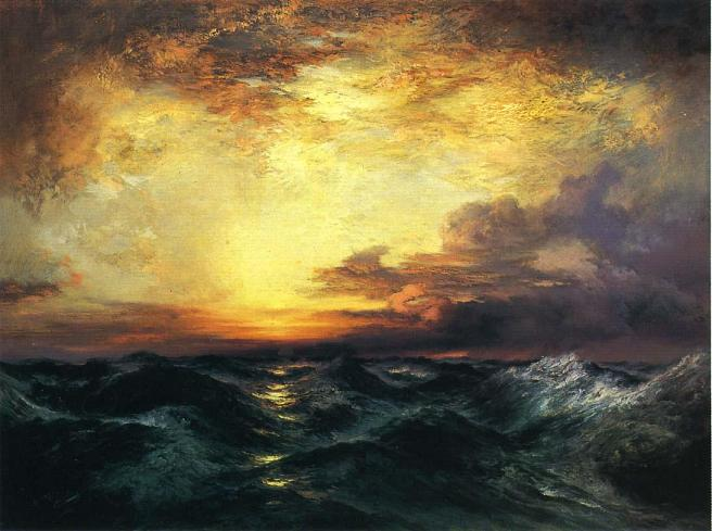 Sunset Paintings by Famous Artists - Fine Art Blogger