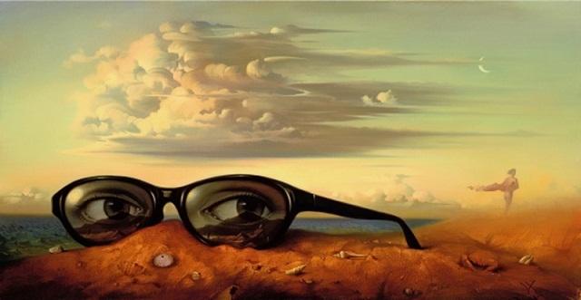 очки море фото