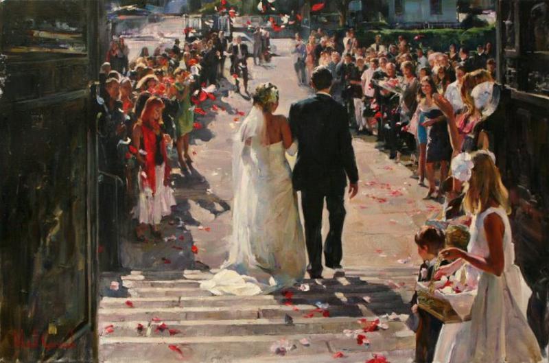 Michael And Inessa Garmash Romantic Impressionist Oil Paintings