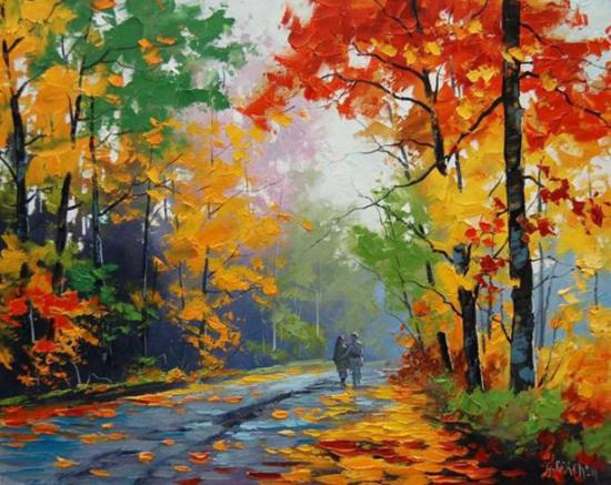 Australian landscape oil paintings by graham gercken for Fall paintings easy