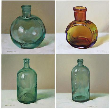 Diy 601 All New Painting Glass Vases With Oil Paint