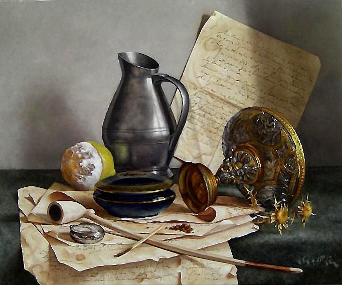 The gallery for --> Famous Still Life Oil Painting
