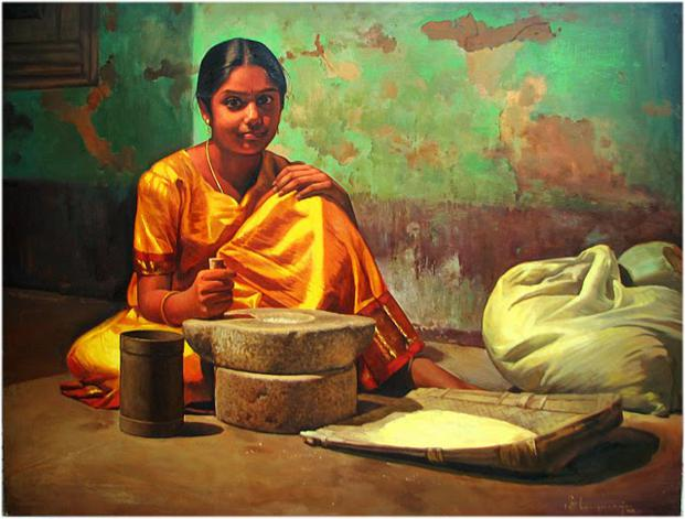 realistic-indian-paintings