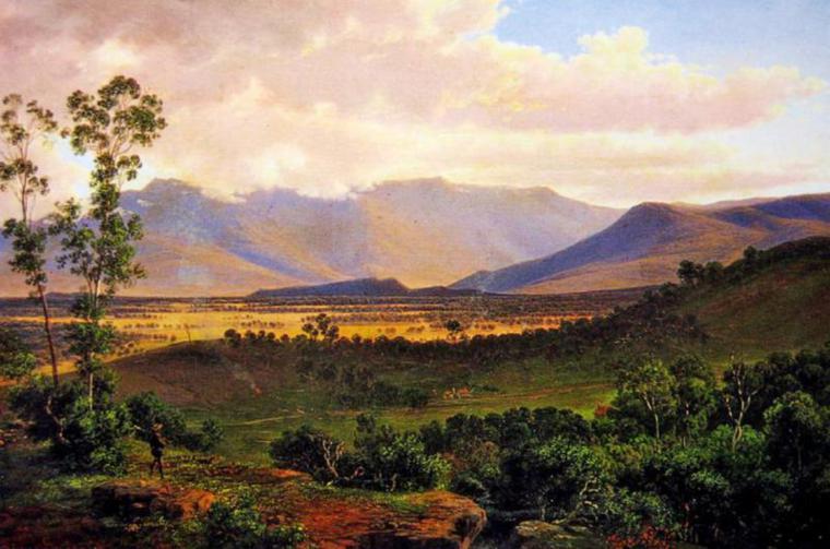 Eugene Von Guerard Australian Landscape Paintings